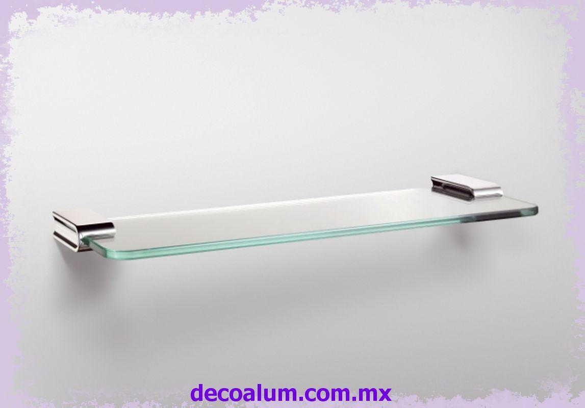 Repisa De Cristal De 6mm Deco Alum Persianas Cortinas
